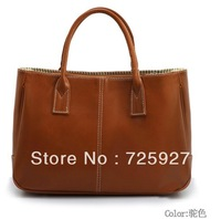 2013 candy color Women's Handbags messenger Bags New fashion tote PU leather high quality 12 color handbag lady shoulder bag