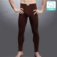 Soft Cotton long johns pants for men thermal pants underwear 2013 winter warm underpants   Free shipping