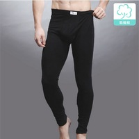 Comfortable Cotton thermal underpants 2013 winter bottoming long johns pants very soft underwear men Free shipping