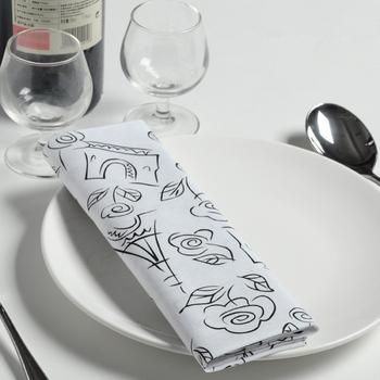 Table cloth napkin tea towel gremial cloth placemat cotton table napkin fashion home table cloth napkin