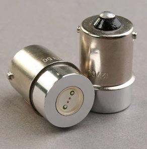 2x Auto LED High Power 1W 1SMD License Light Bulb 160 LUM 1156 base 12v / 24v (optional) R5W BA15S Freeshipping(China (Mainland))