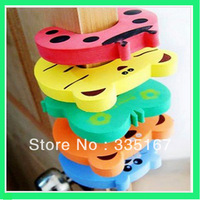 500pcs/lot Children safty door stop children protection door holder cushion hand safty with Opp package