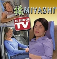 Free Shipping 2012 hot sale Cordless electric Pillow MIYASHI Massaging Pillow massage cushion for leaning on As Seen on TV