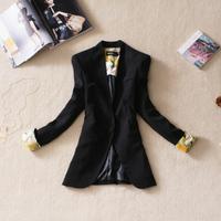 New arrival 2013 candy color women's blazer ol slim medium-long small suit jacket