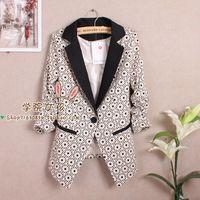 2013 women's autumn outerwear fresh slim blazer