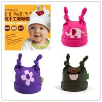 Animal Prints Baby  HAT/Children's Funky Feet Hat/Infant&Toddler's Modeling Beanie