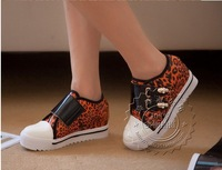 woman platform elevator rhinestone beaded canvas shoes casual sneaker shoes for female fashion sport shoes,47