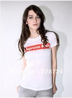 2013 new street fashion Bitches shirt for women supreme t shirt women Short Sleeve Blouse for Women O-neck T-shirt plus size