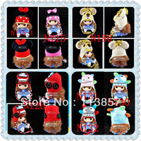 new styles hand knit earflap crochet animal baby winter hat wholesale photo prop