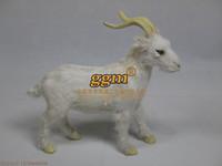 High artificial goat crafts decoration plush fur derlook photography props model