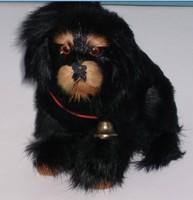 Tibetan mastiff animal model doll dog plush toy puppy decoration gift