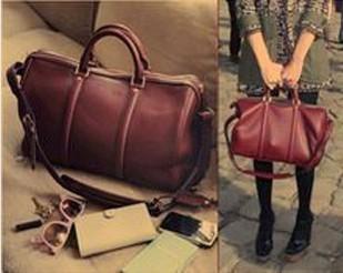 2013 Fashion Vintage Style Women Retro Handbag PU Leather Ladies Hand Bag Totes&Shoulder Bags&Wristlets Handbag  Free Shipping