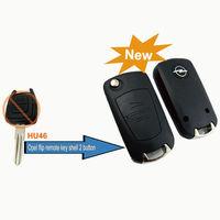 BRAND NEW Modified Folding Remote Key Shell 2 Button For Opel Corsa Astra Kadett Monza Montana Case Fob
