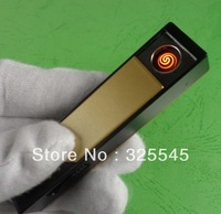 Large fire With no line USB charging Lighter Metal U disk Electronic Cigarette Lighter Mini Energy Saving
