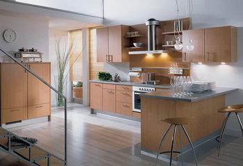 Modern Style Acrylic Kitchen Cupboard   (AGK-090)