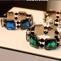 Hot sale luxurious graceful shining fake stone Stretch Bracelet