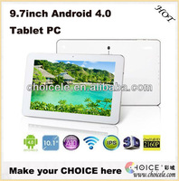 9.7inch touch screen tablet pc,smart 3G tablet pc,tablet pc sale