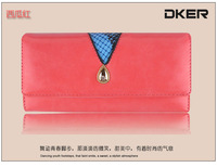 Amoy explosive new serpentine Miss Han Ban style Wallet Purse Free shipping D103