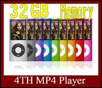 """Cheaper 10pcs 32GB Slim 1.8"""" Screen 4th LCD MP3 MP4 Player FM Radio+ Games+ Recorder +E-book Free Shipping"""