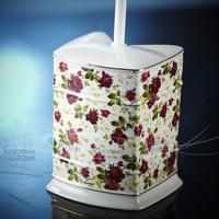 Bathroom supplies ceramic bathroom toilet brush toilet brush cup toilet brush set toilet brush rack