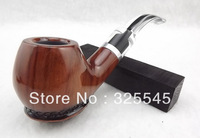 Old mahogany Tortoiseshell Personality Handmade pipes For the core Filter Briar Send Smoking 9 sets