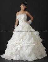 Sweet wedding dress quality fabric 2080 eucken wedding rb2166