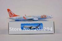 Wholesale Free Shipping,10pcs/lot B737-800 GOL Brazil ,metal airplane models,airplane model, airbus prototype machine