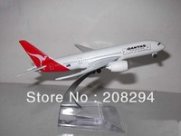 Wholesale Free Shipping,5 pcs/lot B787-800 Australia's aviation ,metal airplane models,airplane model, airbus prototype machine
