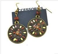 Оригинальные серьги new2013 silver-plated rings supernova sale fashion drop tassels earrings women stud earings jackets