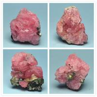 Rhodiums natural rhodochrosite nunatak ore stone pink