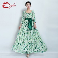 2013 autumn skirt elegant fancy gentlewomen half sleeve one-piece dress full dress female