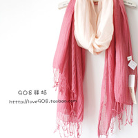 2013.8.1 super recommended gradient color tassel scarf