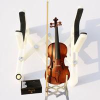 Heifetz violin take the stand mount rack violin accessories