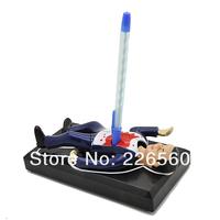 Free Shipping 1Piece Dead Mr. ED Dead Pen Holder / Murder Pen Holder Stand