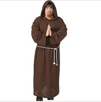 New Hot Sale Monk clothes set halloween performance wear  with free shipping