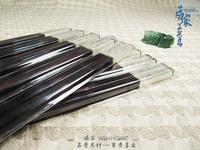 Ebony chopsticks silver plated chopsticks gift