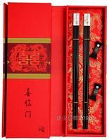 Chopsticks mahogany wedding gifts set ceremonized tableware