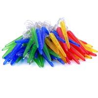 Free shipping 10M 60LED corn Decorative String Fairy Light Colorful Christmas 220V EU Plug