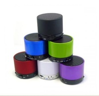 Hot Multi Color Audio Wireless Bluetooth TF Card Speaker Compatible MIC NEW VIEW for Iphone/Samsung Drop/Free Shipping
