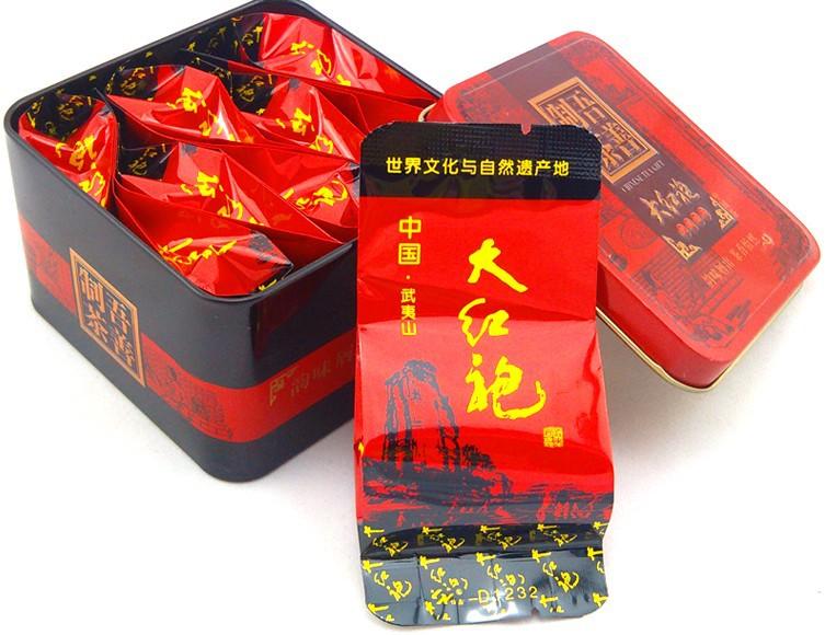8 packs premium Grade Chinese Oolong Tea Big Red Robe Dahongpao Da Hong Pao Tea health