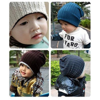 Free Shipping 6pcs/lot Free Size Cool Crochet Baby Beanie Kids Infant Hats Winter warm Hat Head Cap Children Accessories A0165