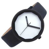 Fashion strap brief personality unisex student table casual fashion vintage quartz male watch