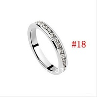 2013 Fashion Accessories Austrian Crystal Ring Free Shipping