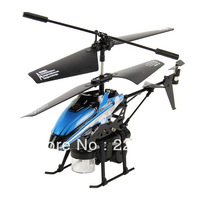 New Blue Wltoys 3.5CH I/R RC Remote Control Bubble Gyro Helicopter Toy Gift V757 Free shipping & wholesale