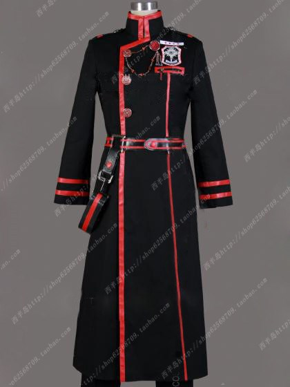 Gray man military uniform coat Cosplay costume set(China (Mainland))