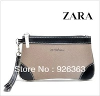 Women's elegant simple atmospheric mobile packet zero wallet caught hand bag  totes phone bag