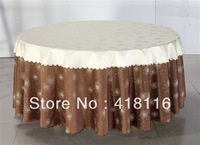 free shipping table linen   jacquard table cloth  for events