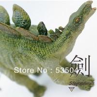 Free shipping SIMULATONG Frence PAPO Jurassic Park Dinosaur toy Dinosaur model Dinosaur model Stegosaurus model dolls