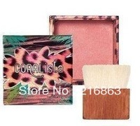 2013 hot coral pink loose powder blush rouge coral light coral color powder 12g free shipping