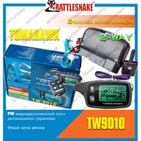 Factory Wholesales In Stock Tomahawk Two Way Car Alarm System With Remote Engine Starter Tomahawk TW9010 Russian Version